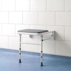 Impey Fold-Down Padded Disability Shower Seat