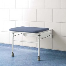 Impey Fold-Down Shower Seat with Wide Seating Area