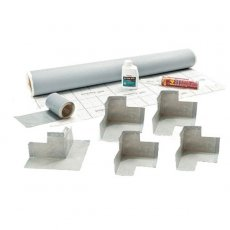 Impey WaterGuard Waterproof Membrane Kit, Pre-Made Corners, 5sqm