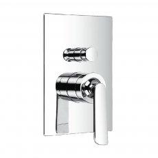 JTP Cascata Concealed Shower Valve & Diverter, Chrome