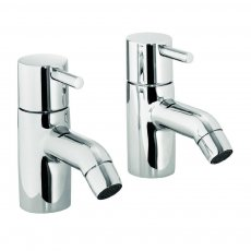 JTP Florentine Basin Taps, Pair, Chrome
