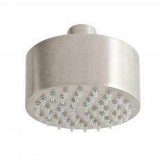 JTP Inox Mini Fixed Shower Head 89mm Diameter - Stainless Steel