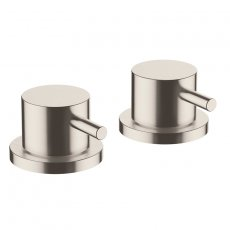 JTP Inox Deck Panel Valves Pair - Stainless Steel