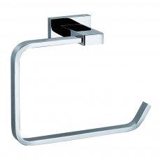 JTP Ludo European Toilet Roll Holder, Chrome