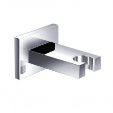 JTP Minimalist Shower Handset Holder, Wall Mounted, Chrome