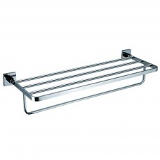 JTP Mode Towel Shelf and Bar, Chrome