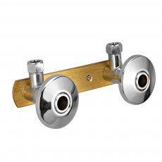 JTP Mounting System for Shower Valves, 150mm Centres, Chrome