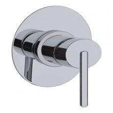 JTP Ovaline Concealed Shower Valve Single Handle - Chrome