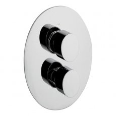 JTP Ovaline Concealed Shower Valve Dual Handle - Chrome