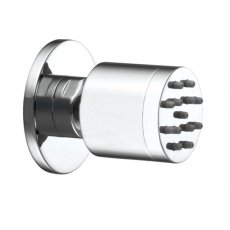 JTP Round Body Jet for Mixer Shower Single - Chrome