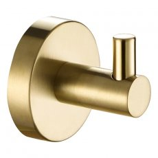 JTP Vos Robe Hook Wall Mounted - Brushed Brass