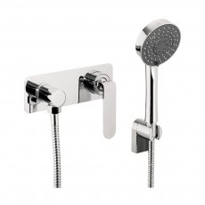 JTP Vue Concealed Shower Valve with Kit Single Handle - Chrome