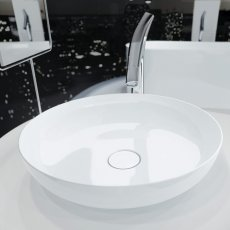 Kaldewei Miena Round Bowl Basin 380mm Wide - White
