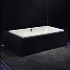 Kaldewei Puro Duo Rectangular Steel Bath, 1700mm x 750mm, 0 Tap Hole