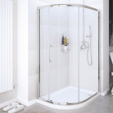 Lakes Classic Quadrant Shower Enclosure 1900mm H x 800mm W - 6mm Glass