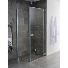 Lakes Grenada Hinged Shower Door 2000mm H x 1000mm W - 8mm Glass