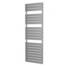 MaxHeat Deshima Vertical Towel Rail, 1564mm High x 500mm Wide, Silver