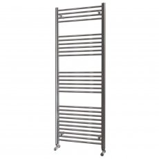 MaxHeat Falmouth Straight Towel Rail, 1600mm High x 600mm Wide, Chrome