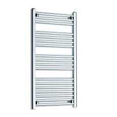 MaxHeat K-Rail 25mm Straight Towel Rail 1000mm H x 300mm W - Chrome
