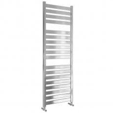 MaxHeat Lazzarini Capri Straight Towel Rail 1420mm H x 500mm W - Chrome