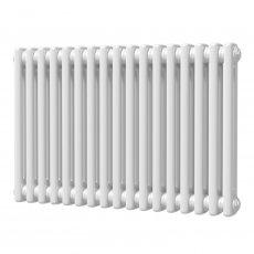 MaxHeat Octavius 2 Column Horizontal Radiator 500mm H x 768mm W - White