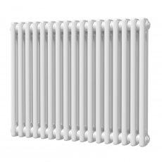 MaxHeat Octavius 2 Column Horizontal Radiator 600mm H x 768mm W - White