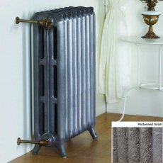 MaxHeat Tradition Pattern Cast Iron Radiator 750mm H x 233mm W 3 Sections Primer