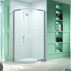 Merlyn 8 Series Quadrant Shower Enclosure with Tray 900mm x 900mm - Clear Glass