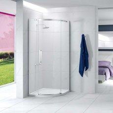 Merlyn Ionic Essence Quadrant Single Shower Enclosure, 900mm x 900mm, Left Handed