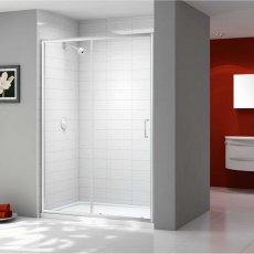 Merlyn Ionic Express Sliding Shower Door, 1200mm Wide, 6mm Glass
