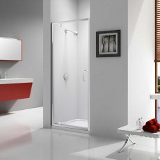 Merlyn Ionic Express Pivot Shower Door, 800mm Wide, 6mm Glass