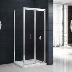 Merlyn Mbox Bi-Fold Shower Door 900mm - 4mm Clear Glass