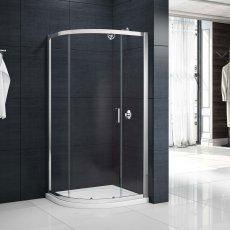 Merlyn Mbox Single Quadrant Shower Enclosure 800mm x 800mm - 6mm Glass