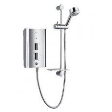 Mira Escape Thermostatic Electric Shower with Kit and Showerhead, 9.8kW, Chrome