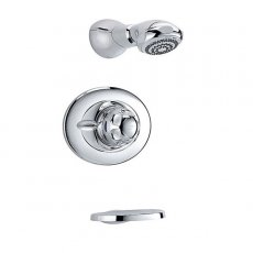Mira Excel BIR Concealed Thermostatic Shower Mixer with Shower Head - Chrome
