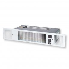 Myson Kickspace 600E ECO Plinth Heater - White Grill