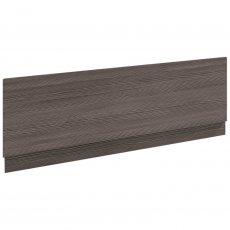 Nuie Athena Bath Front Panel 560mm H x 1700mm W - Brown Grey Avola