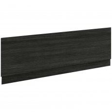 Nuie Athena Bath Front Panel 560mm H x 1800mm W - Hacienda Black