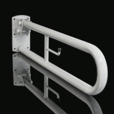 Nymas NymaPRO Trombone Lift and Lock Grab Rail 800mm Length - White