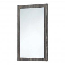 Orbit Wood Frame Bathroom Mirror 800mm H x 500mm W - Avola Grey