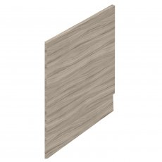 Hudson Reed MDF Straight Bath End Panel and Plinth 550mm H x 750mm W - Driftwood