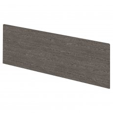 Hudson Reed MDF Straight Bath Front Panel and Plinth 550mm H x 1700mm W - Brown Grey Avola