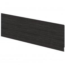 Hudson Reed MDF Straight Bath Front Panel and Plinth 550mm H x 1700mm W - Hacienda Black