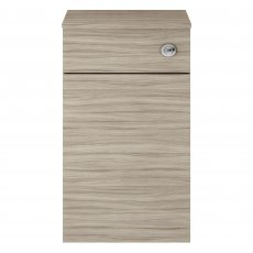 Premier Athena Back to Wall WC Toilet Unit 500mm Wide - Driftwood
