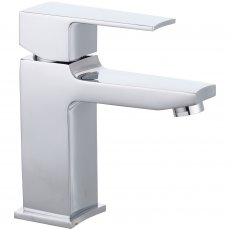 Nuie Camber Mono Basin Mixer Tap with Waste - Chrome