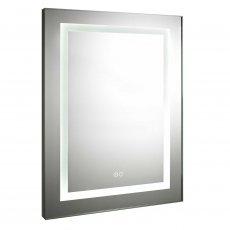 Premier Carmela Level Bathroom Mirror 800mm High x 600mm Wide with De-mister Pad