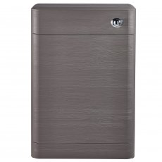 Nuie Eclipse Back to Wall WC Unit 552mm Wide - Midnight Grey