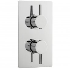 Premier Pioneer Twin Thermostatic Shower Valve Lever Handles