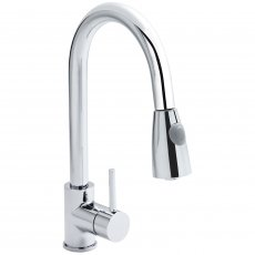 Nuie Kitchen Sink Mixer Tap Pull-Out Spray - Chrome