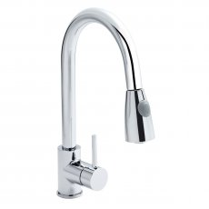 Premier Kitchen Sink Mixer Tap Pull-Out Spray Single Handle - Chrome
